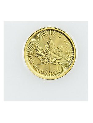 2019 Canada 1/10 oz Gold Maple Leaf $5 Coin GEM BU Mint Sealed SKU55920