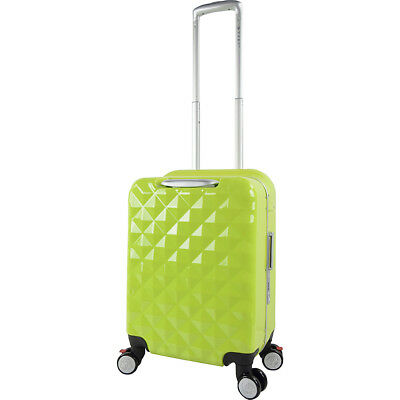 "Travelers Club Luggage Prism 20"" Seat-On™ Hardside Carry-On NEW"