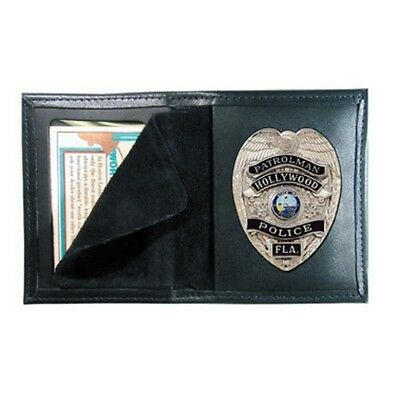 Boston Leather 100-4019 Blackinton #B1090 Police Tactical Duty Badge Holder Case