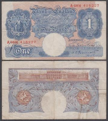 ND (1940-48) Bank Of England 1 Pound