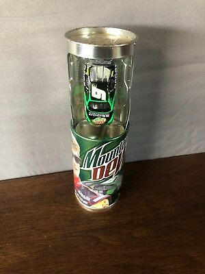 ACTION Limited Edition Mountain Dew NASCAR #9~ 1:64 Diecast Car in Pop Can ~