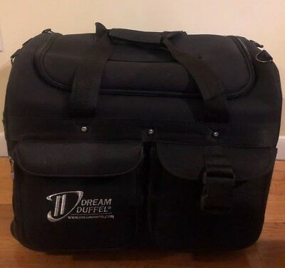 Dream Duffel - Black Small Rolling Competition Dance Bag (Pre-Owned)