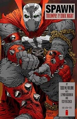 SPAWN #224  NM/M UNREAD BATMAN DARK KNIGHT  HOMAGE TODD McFARLANE COMIC KINGS