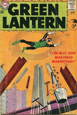 Green Lantern # 21 - Origin And First Appearance Of Dr.polaris - Gil Kane Art