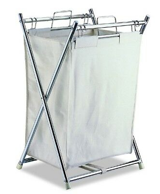 Organize It All 5760 Folding Hamper with Canvas Pull-out Bag