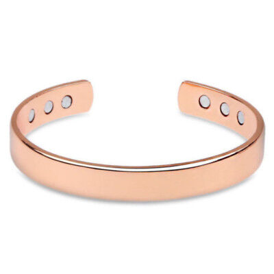 Hot Magnetic Copper Bracelet Healing Bio Therapy Arthritis Pain Relief Bangle 1x