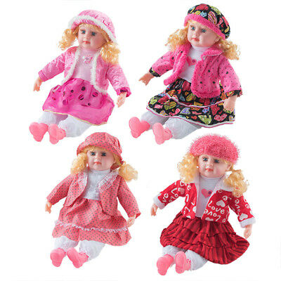 "24"" Lifelike Size Large Happy Face Soft Bodied Baby Doll Girl Boy Play Toy Gift"