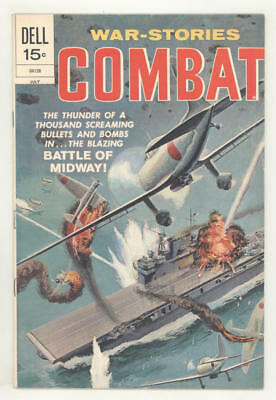 July 1972 COMBAT #36 comic book MIDWAY BATTLE Glanzman art. NICE