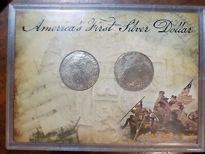 (2) 1783 Mexico Charles III Silver 8 Reales - Americas First Dollars