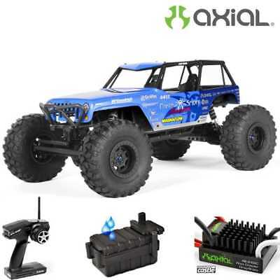 Axial 1/10 Trail Off Road Performance Poison Spyder Wrangler Wraith Rtr Ax90031