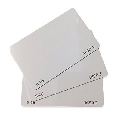 50 pcs 26 Bit Proximity CR80 Cards Weigand Prox Blank Printable Swipe Cards with