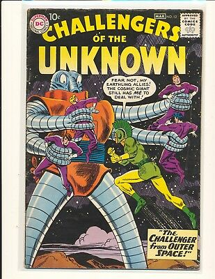 Challengers of the Unknown # 12 VG+ Cond.