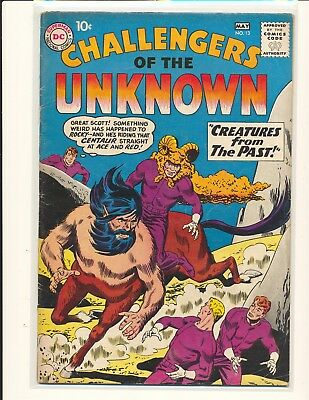 Challengers of the Unknown # 13 VG+ Cond.