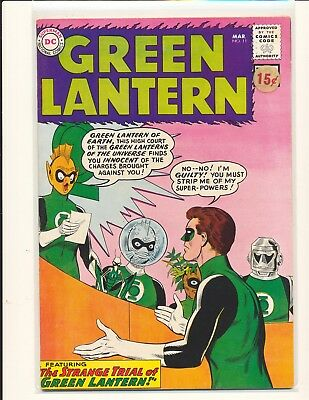 Green Lantern # 11 Fine Cond. price sticker on cover