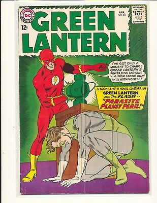 Green Lantern # 20 VG Cond. subscription crease