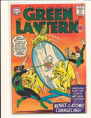 Green Lantern # 38 Fine+ Cond. price sticker on cover