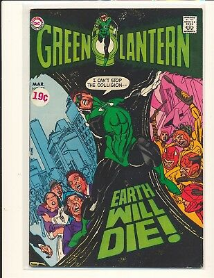 Green Lantern # 75 VG/Fine Cond. price sticker on cover