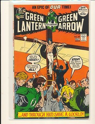 Green Lantern # 89 - Neal Adams cover & art Fine+ Cond.