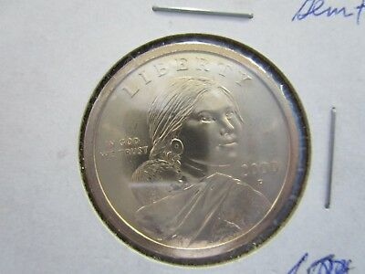 2000 -P SACAGAWEA Golden Dollar Native American PROOF LIKE  Coin US Mint