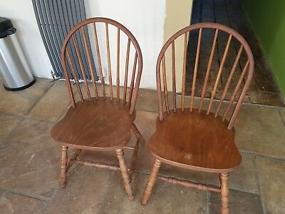 oak farmhouse chairs