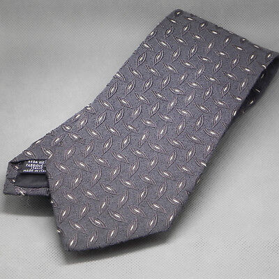 Hugo Boss Men's  necktie 100% silk Made in Italy