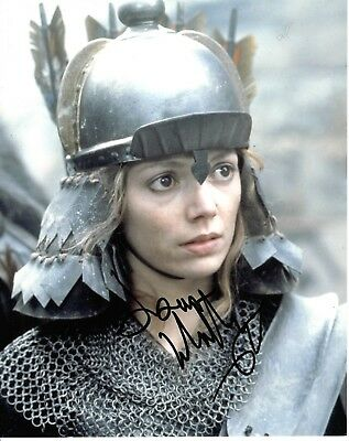 Joanne Whalley Signed Willow Photo Uacc Reg 242