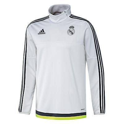 Real Madrid long sleeve training top Adidas S88966 in XS and Small (RRP £80 new)
