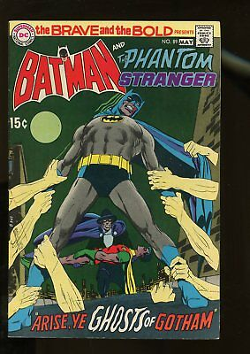 Brave And The Bold #89 Fine+ 5.5 Batman / Phantom Stranger 1970 Dc Comics
