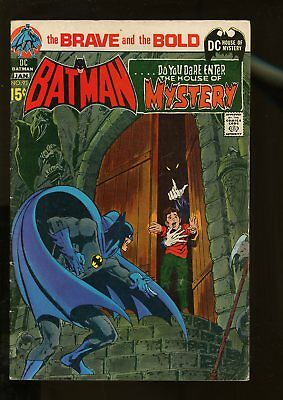 Brave And The Bold #93 Very Good 4.0 Batman / House Of Mystery / Adams Art 1971