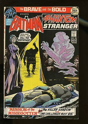 Brave And The Bold #98 Fine+ 6.5 Batman / Phantom Stranger 1971 Dc Comics