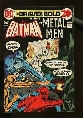 Brave And The Bold #103 Fine 6.0 Batman / Metal Men 1972 Dc Comics