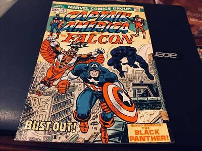 Marvel Comics--Captain America And The Falcon--Black Panther-No 171-March 1974