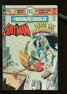 Brave And The Bold #123 Fine+ 6.5 Batman / Plastic Man / Metamorpho 1975 Dc