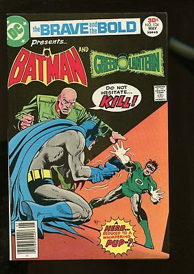 Brave And The Bold #134 Vf/nm 9.0 Batman / Green Lantern 1977 Dc Comics