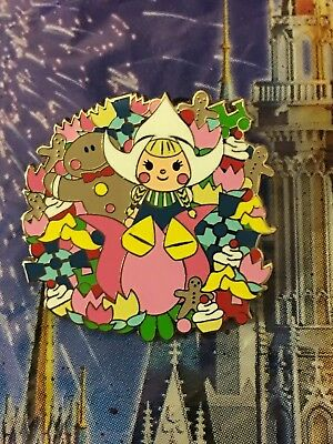 it's a small world Happy Holiday 2018 HOLLAND Mystery Pin Wreath Disney LR