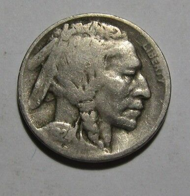 1924 D Buffalo Nickel - Very Good Condition - 51SA