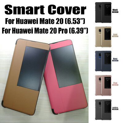 Etui Coque Housse pour Huawei Mate 20 Pro Smart Flip Phone Case Cover Ultra Thin