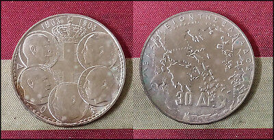 Roughly Size of Half Dollar - 1963 Greece 30 Drachmai World Silver Coin 18g