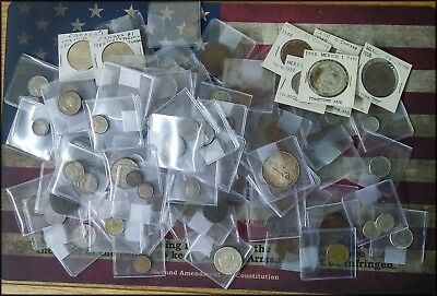 Lot of 110+ World Coins