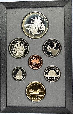 1990 Royal Canadian Mint Proof Set - With orignal Gov Packaging & COA (b453.8)