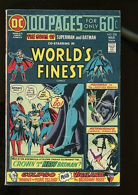 World's Finest Comics #228 Very Good / Fine 5.0 100 Pages 1975 Dc Comics