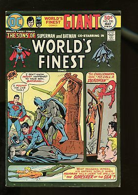 World's Finest Comics #230 Fine- 5.5 Giant-Size 1975 Dc Comics