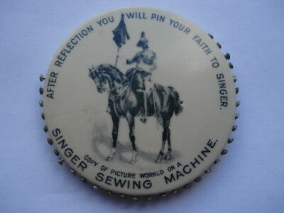 C1900 After Reflection Youll Pin Your Faith To Singer Sewing Machines Pincushion