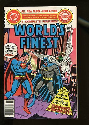 World's Finest Comics #261 Very Fine 8.0 Giant-Size 1980 Dc Comics