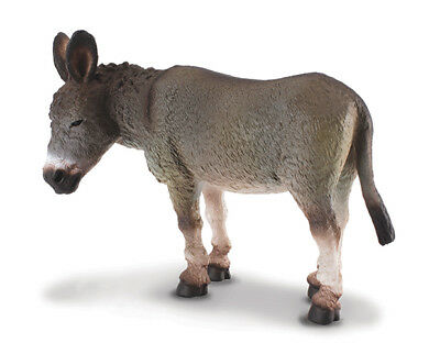 Grey Donkey Mule Breyer by CollectA Item #88115 | Age: 3+ | Scale: 1:20 NIP!