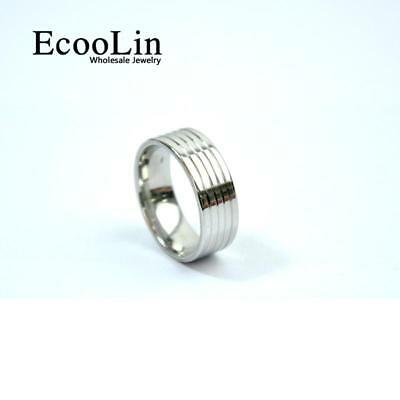 1pc Stainless Steel Ring Classic Design Jewelry For Men Fashion Free Shipping BF