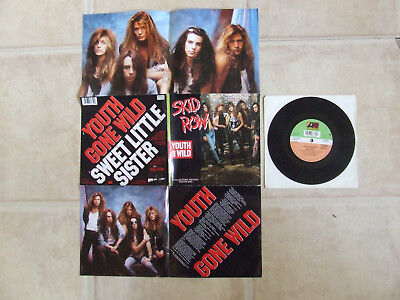 SKID ROW youth gone wild...POSTER BAG..ATLANTIC A 8935 YEARS 1989