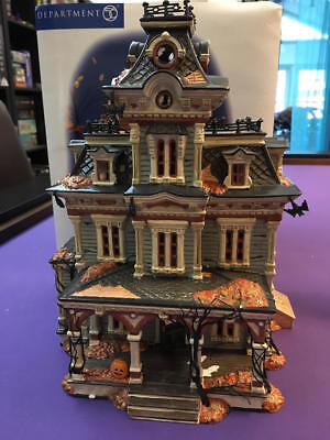 Department Dept 56 Halloween Grimsly Manor - Used