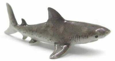 New NORTHERN ROSE Porcelain Figurine GREAT WHITE SHARK Statue Marine Ocean Fish
