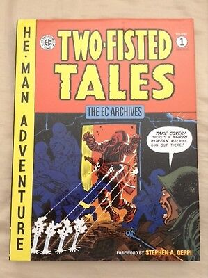 The EC Archives Two-Fisted Tales Volume 1 Graphic Novel Book- Dark Horse -Damage